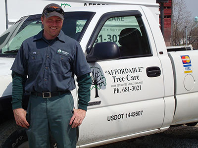 Jeff Nelson Affordable Trees Owner